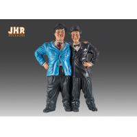 Buy cheap Vintage Home Decor Polyresin Statue Figurine Resin Brother Sculpture Tabletop Figures from wholesalers