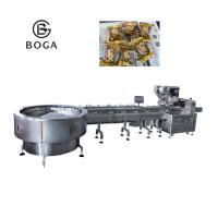 Buy cheap Dove wrap Candy Packaging Machine / Horizontal Wrapping Machine 2.4KW from wholesalers