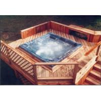 Buy cheap TF-9601i Hot Tub Furniture wicker stair with PVC panel from wholesalers