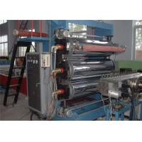 Buy cheap Plastic Sheet Extruder Machine , Double Screw Bule Plastic PVC Sheet Production Line from wholesalers