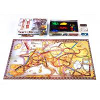 Buy cheap Cafe Shop Party Paper Board Games With 1/8 Folded Board Plastic Insert Non Skid from wholesalers