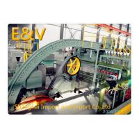 8mm Copper Rod Casting Machine / Big Capacity Continuous Caster For Copper Rod