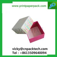 Buy cheap Custom Printed Hat Rigid Cardboard Gift Flower Box Candy Cake Boxes Jewelry Cosmetic Packaging Box from wholesalers
