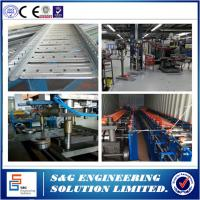 Buy cheap Cable Tray Production Line With Cable Tray Bending Machine Galvanized Steel Sheet Raw Material from wholesalers