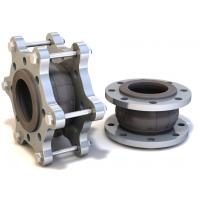 Floating Flange Rubber Expansion Joints / Pipe Expansion Joint DN125 PN40 Model KXT-W