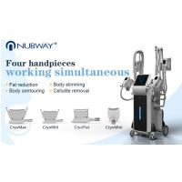 Buy cheap 4 handles Cryo Therapy Cool Sculpture Zeltiq cryolipolysis machine 2018 from wholesalers