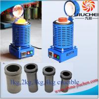 Buy cheap JC Best Price Metal Scrap Melting Furnace for Gold Silver Copper Aluminum from wholesalers