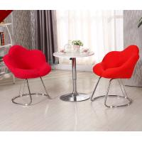 Buy cheap Commercial Modern Metal Chairs , Antique Upholstered Dining Chairs With Metal Legs from wholesalers