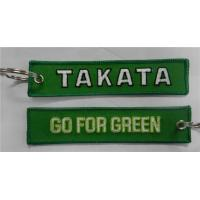 Buy cheap Takata Lanyard Go For Green Keyring Key Ring Key FOB from wholesalers