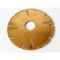 Buy cheap 4.5 / 115mm Electroplated Diamond Disc Cutter Blades With U Slots For Circular Saw from wholesalers