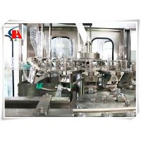 Buy cheap Compact Carbonated Beverage Bottling Equipment , Liquid Bottle Filling Machine 6000 BPH from wholesalers