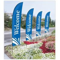 Buy cheap Windless Full Sleeve Super Feather Flag - Banner/Pole/Spike from wholesalers
