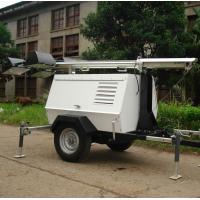 Buy cheap 6kw - 8kw Diesel Light Tower Generator , Mobile Light Tower 1000Wx6 Lamps With Trailer from wholesalers