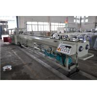 Buy cheap High Output PVC Double Pipe Plastic Extrusion Equipment / Pipe Extruder Machine from wholesalers
