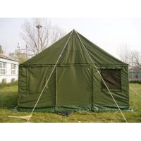 Buy cheap Oxford Fabric Military Wall Tent 2.4M Height , Rustproof  Military Issue Tent  from wholesalers