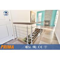 Buy cheap modern design customized indoor stainless steel railings design from wholesalers