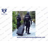 Buy cheap Secure Design Drone Signal Jammer WIFI 2.4G 5.8G GPS 433 MHz To Avoid Sabotage from wholesalers