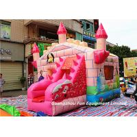Buy cheap Commercial Funny Inflatable Princess Bouncy Castle With Slide For Children Toys from wholesalers