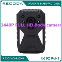Buy cheap Law Enforcement 4G Body Camera , Wide degree wearable police cameras 11 hours from wholesalers