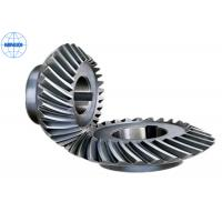 Buy cheap Customized Spiral Stainless Steel Bevel Gears For Marine / Helical Bevel Gear from wholesalers
