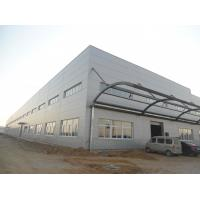 Buy cheap Metal Frame Prefabricated Storage Warehouse Building with Q345B steel from wholesalers
