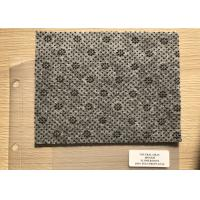 Buy cheap Anthracite Flower Dotted Polyester Needle Punched Felt Fabrics For Anti Slip Floor Carpet from wholesalers