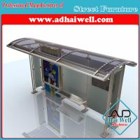 Buy cheap Outdoor Furniture Bus Stop Shelter from wholesalers