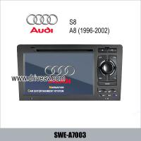 Buy cheap Audi A8 S8 OEM stereo radio DVD Player GPS navi Bluetooth TV IPOD SWE-A7003 from wholesalers
