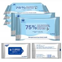 Buy cheap Hand Free Surface Disinfectant Wipes Organic Individual Alcohol Prep Wipes from wholesalers