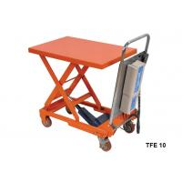Buy cheap Portable Electric Pallet Lift Table With Integral Lifting Pump Structure from wholesalers