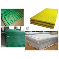 "Quality PVC Welded Mesh Panel Green,Yellow2""x2"",1""x1"" for sale"