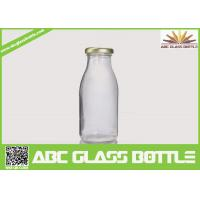 Buy cheap Clear milk 200ml glass bottle BPA free product
