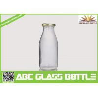 Buy cheap Clear milk 200ml glass bottle BPA free product