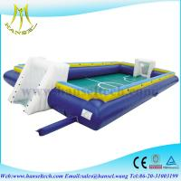 Buy cheap Hansel inflatable soap soccer field,inflatable soccer arena,inflatable soccer game from wholesalers