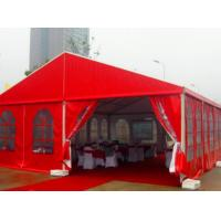 Buy cheap Chinese Style Red Outdoor Party Tents / Outside Canopy Tent For Wedding Events  from wholesalers