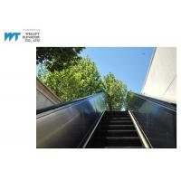 Buy cheap PLC Drive Outdoor Escalator Safety Hot Dipped Galvanized Truss Black Handrail from wholesalers