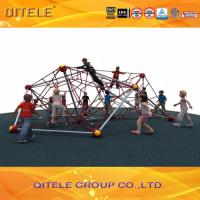 Buy cheap Double Star Shape Ropes Playground Climbing Net With 6pcs Wire - Rope Inside from wholesalers