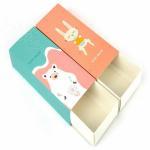 Buy cheap custom baby underwear sock clothing packaging box luxury children boy girl stocking apparel jean gift box from wholesalers