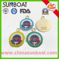 Buy cheap fashionable round OEM/ODM designed cast iron enamel competition medal from wholesalers