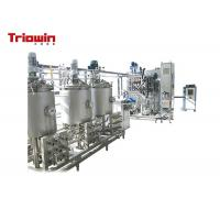 Buy cheap High Strength Dairy Products Making Machine / Mini Dairy Processing Plant 220/380V from wholesalers