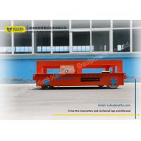 Buy cheap Optimal Transportation Battery Transfer Cart / Heavy Duty Material Handling Carts from wholesalers