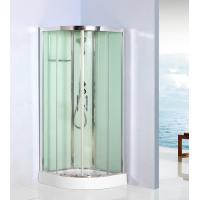 Buy cheap Curved Corner Shower Units Free Standing Shower Cubicles For Small Bathrooms from wholesalers