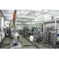 Buy cheap Flavored Milk Processing Plant Machinery , Milk Factory Equipment Energy Saving from wholesalers