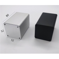 Buy cheap Square Tubing 52*52*80mm Extruded Aluminum Enclosure from wholesalers
