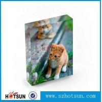 Buy cheap Factory Acrylic Block OEM Size Full Colored Solid Acrylic Block/paperweight from wholesalers