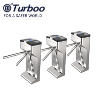 Buy cheap AC100-240V SUS 304 Stainless Steel Barrier Gate 3 Arms Outdoor Semi Automatic Tripod Turnstile Gate With Solenoid Lock product