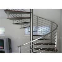 Buy cheap Prefabricated Spiral Staircase Timber Treads Stair For Indoor from wholesalers