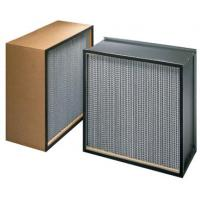 Buy cheap ZS-GW-9151 Mini pleat hepa filter h14 for HVAC system product
