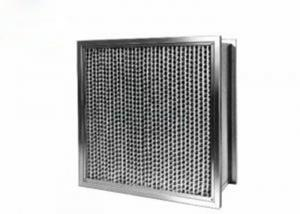 Buy cheap Customized Size Rigid Hepa Air Filter 99.99% High Efficiency For Rated Industrial product