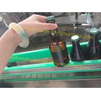 Buy cheap Beer Automatic Filling Machine Soft Drink Plant With Glass Bottles product